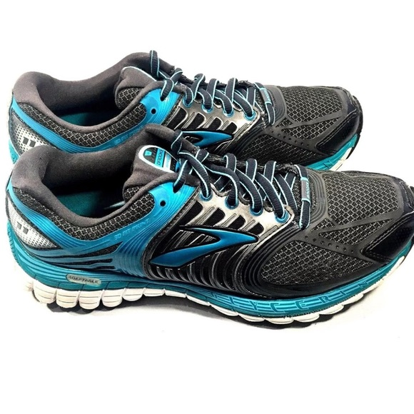 76ff906fc5d Brooks Shoes - ⬇ 💰BROOKS Glycerin 11 Gray Teal Blue Running Shoe